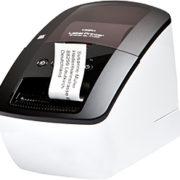 Brother QL-710W Termica diretta 300 x 300DPI Nero, Bianco stampante per etichette (CD)